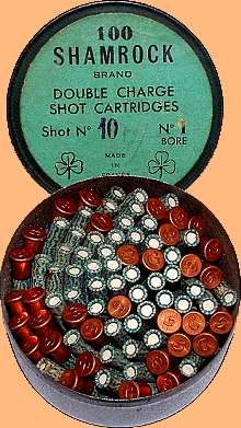Tin of Shamrock no 1 cartridges