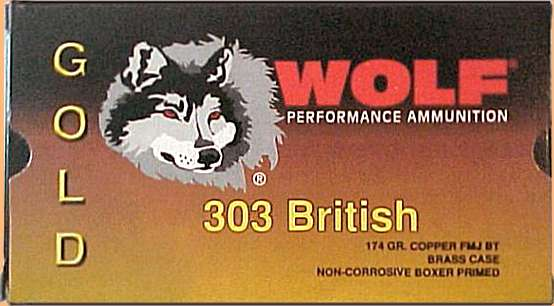 Wolf Brand .303 Ammunition Carton, Photo... Michael Douglas
